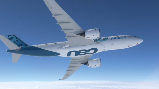 AIRBUS - FIRST FLIGHT A330-800 NEO